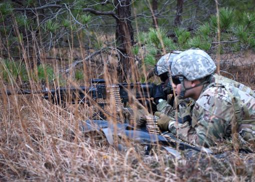 Soldiers train at Air Base