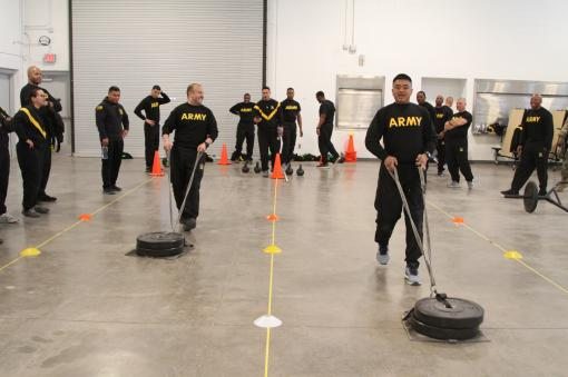 42nd Soldiers test fitness