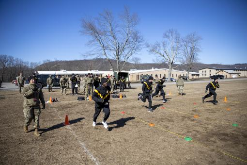 Troop Command Soldiers compete to be best