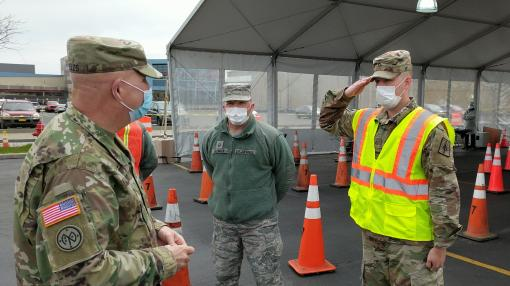 Adjutant General meets troops in Buffalo