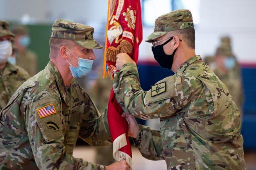 New Commander for 204th Engineers