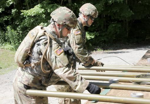 Engineers train at Fort Drum