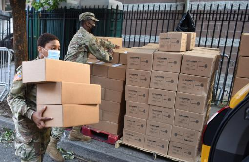 NY NG distributes 52 million meals in NYC