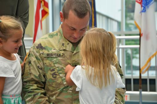 Army Guard Officer Promoted to Lieutenant Colonel