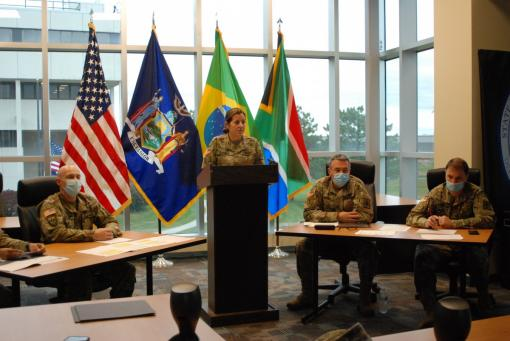 NY leaders talk COVID-19 with Brazilian officials