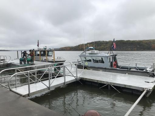 Naval Militia boat crews train