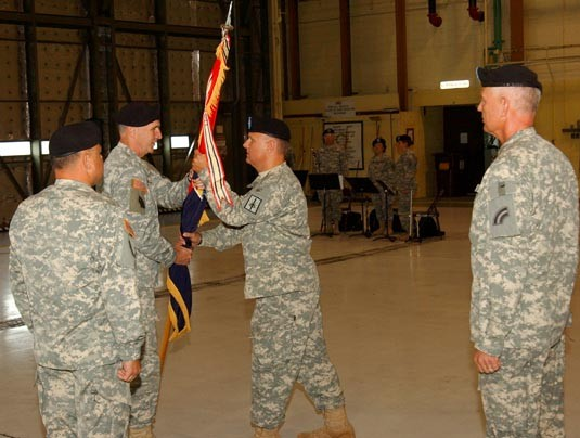 42nd Combat Aviation Change of Command