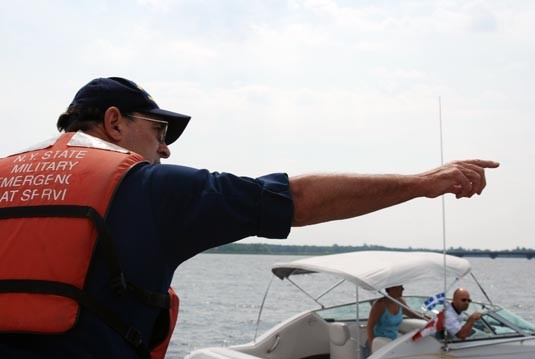 Naval Militia Assists at Lake Champlain
