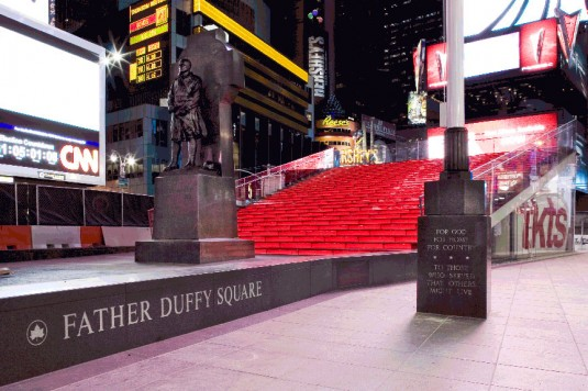 Father Duffy Square in New York City