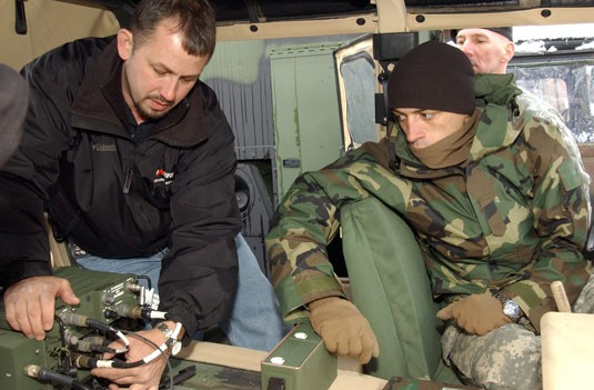 High-Tech Radio Links NY Army National Guard