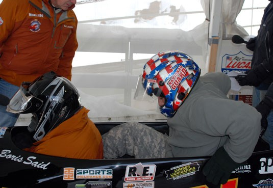 National Guard Bobsled Challenge @ Mt. Van Hoevenberg US Olympic Sports complex Jan 5, 08