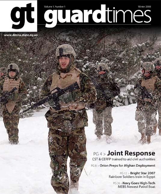 Guard Times Magazine - Winter 08' Edition