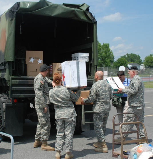 Packages bound for Afghan Children