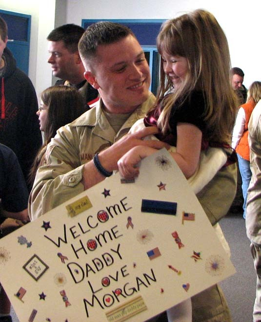 NORAD returns from Kyrgyzstan, Syracuse, NY March 14, 2008