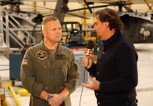 New York Army National Guard on Italian TV