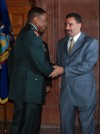 Governor Recognizes Rainbow Soldier's Promotion
