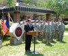 Governor Spitzer Salutes Deploying Soldiers