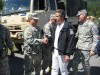 Governor and Adjutant General Greet Troops on Duty - Aug 30, 2011