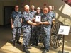 Naval Militia Team Recognized