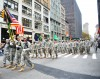 Harlen Hellfighters March in Veterans Day Parade - Nov 12, 2015