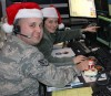 New York Air Guard  tracks Santa