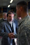 Governor Meets with Guard Members in Afghanistan