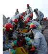 New York National Guard Task Force Takes on Rubble Pile