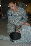 New York Guard Trainees Learn First  Aid Skills