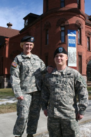 Mother Son Duo Share New York National Guard Careers