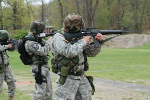 Marksmanship matches bring military services together