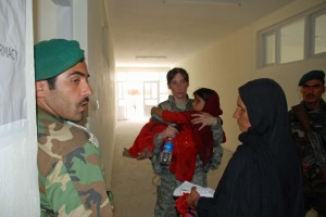 New York National Guard and British Soldiers Aid Afghans