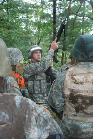 Combat Vets Prepare Guardsmen for War Zone