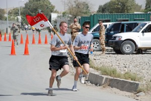 9-11 Commemorative Run Held at Camp Blackhorse, Afghanistan