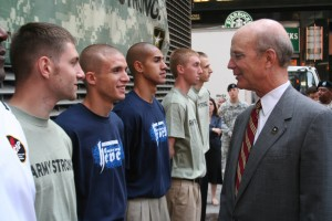 Army 'Faces of Strength' Marks Recruiting Milestone in Manhattan