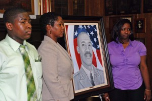 New York Soldier remembered at portrait presentation ceremony