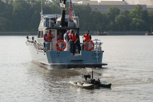 "Naval Militia Tests Unmanned Watercraft during ""Exercise Trojan Horse"""