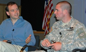 Wounded Warrior and Award-winning Producer reunite