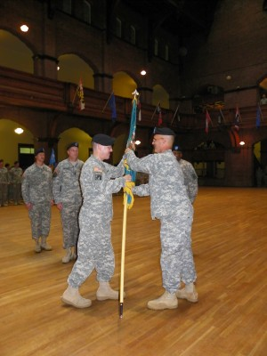 Brigade Special Troops Battalion Changes Hands