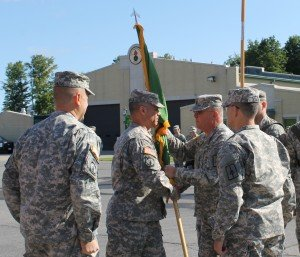 Over There, Over Here: Outgoing 102nd MP Battalion Commander Reflects on Units' Successes