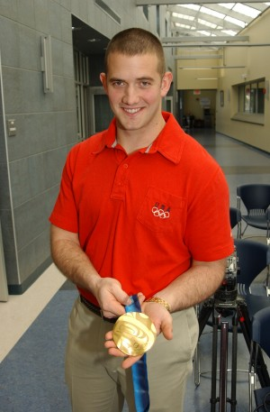 Olympic Gold Medalist Enlists in New York Army National Guard