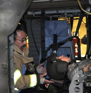 Local aviators and fire fighters team up to train for emergencies