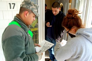 Team Sandy Continues to Offer Help to New Yorkers in Storm's Aftermath