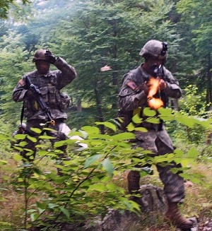 New York Army National Guard Instructors Qualify Infantry Soldiers