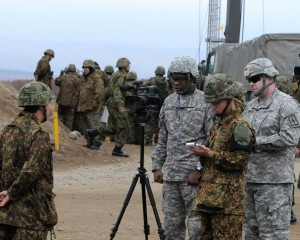 New York National Guard Public Affairs Team Tells the Story in Japan