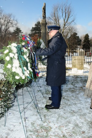 107th Airlift Wing Honors Millard Fillmore During Annual Ceremony at Presidents Grave Wednesday, Jan. 7