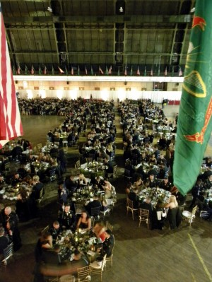 New York Guard Provides Support For 69th Infantry's First Annual Holiday Dine-In Event
