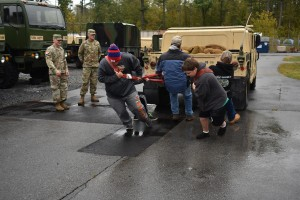 Scouts experience Army Guard life at Queensbury Camporee