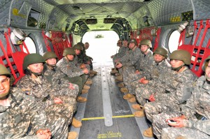 Airlifting New Aviation Soldiers