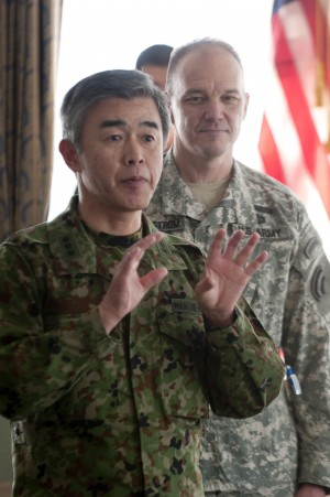 NY National Guard Troops Celebrate Guard Birthday in Japan