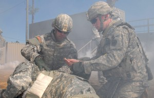 Deploying Soldiers Certified as Combat Lifesavers